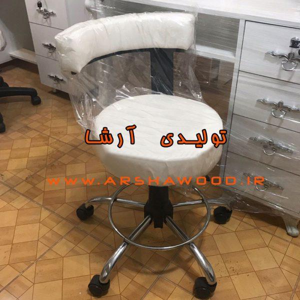 عکس صندلی آرایشگاهی و آزمایشگاهی