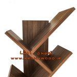 تولیدی کتابخانه مدرن چوبی