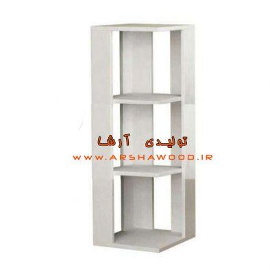 عکس ویترین چوبی سفید