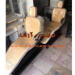 تولیدی صندلی آرایشگاهی طلایی