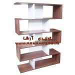 خرید کتابخانه چوبی ارزان
