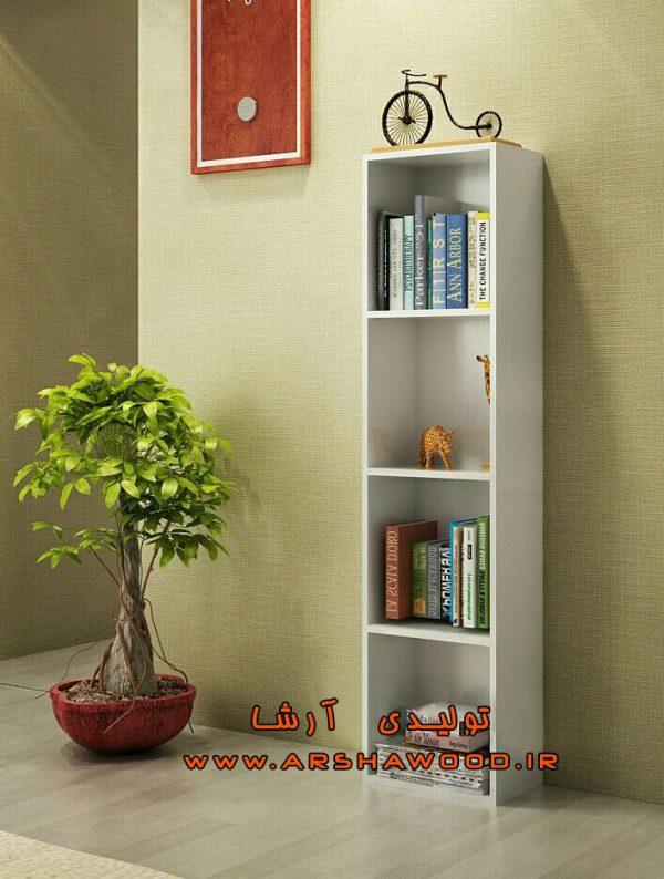مرکز فروش کتابخانه ساده چهار طبقه